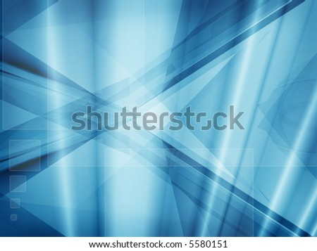 Computer designed modern blue abstract style background