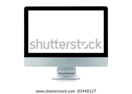 Computer Display (Clipping Path is included)