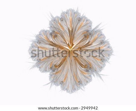 Computer generated abstract illustration for background, pattern, or shape