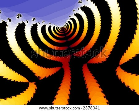 Computer Generated Fractal - stock photo