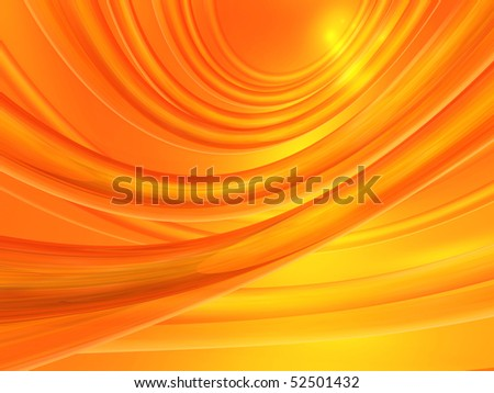Computer generated orange abstract background