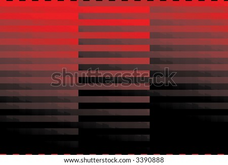 Computer generated red and black striped background