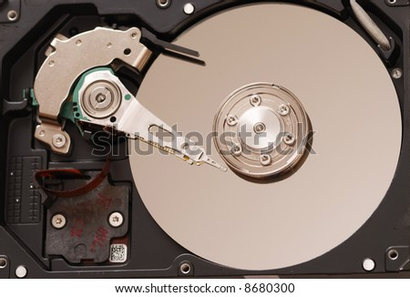 how to open a closed computer hard drive