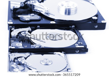 Computer HDD - stock photo