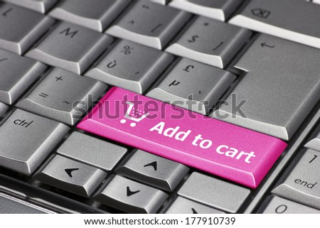 Computer Key pink - Add to cart
