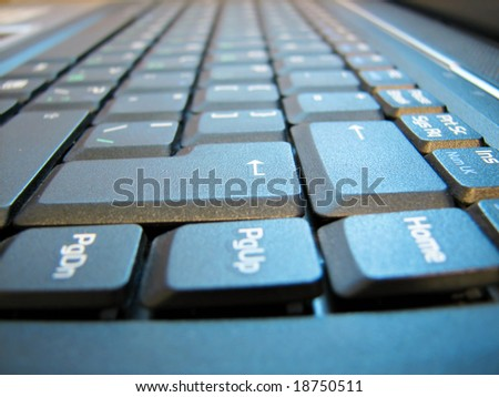 computer keyboard background closeup