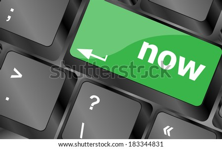 computer keyboard keys with buy word on it - stock photo