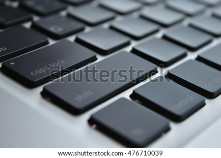 computer keyboard, laptop keyboard