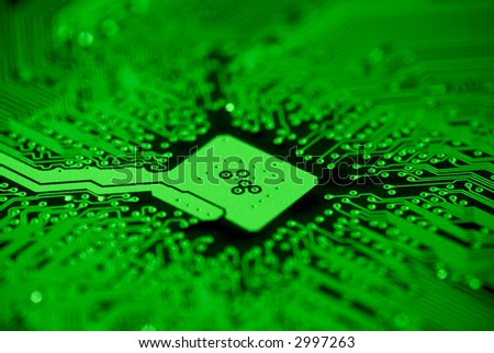 Computer mainboard background texture