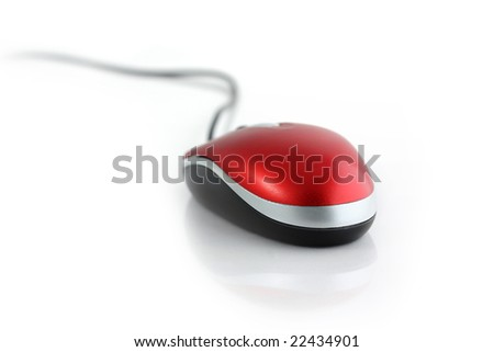 computer mouse - stock photo
