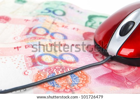 Computer mouse and currency