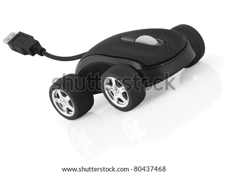 Computer mouse concept - stock photo