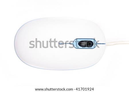 Computer Mouse (Isolated on white background) - stock photo