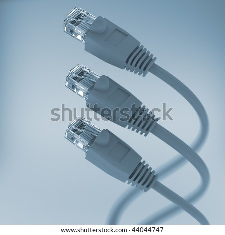 Computer Network Cable tint color