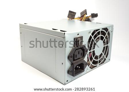 Computer Power Supply Unit - stock photo