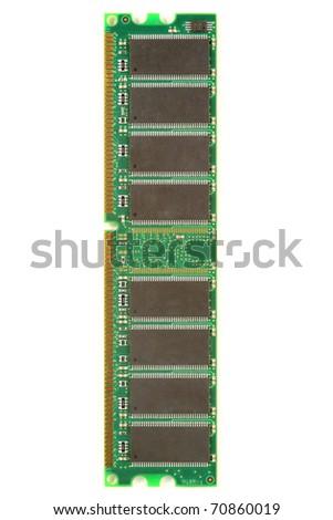 Computer ram module - stock photo