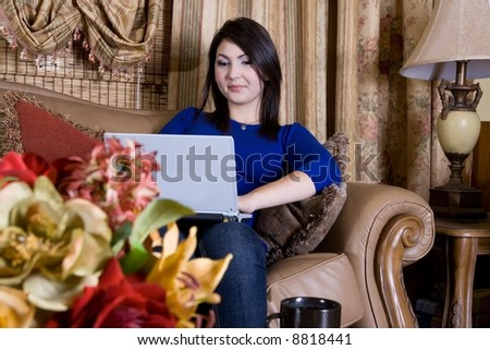 Computer time - stock photo