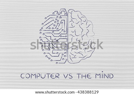 compare human brain and the computer Comparing humans to computers in other words ram acts like the human brain, and the hard drive performs like the subconscious mind in other words the peripherals of a computer compare to the human body parts as both are needed to get tasks and jobs done through communication at some level.
