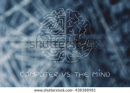 compare human brain and the computer Tool module: similarities and differences between the brain and a computer beyond the obvious analogies and differences between computer hardware and the human brain (for instance, between the computer's ram and the brain's working memory, or the computer's hard drive and the brain's long-term memory), the two are often said to resemble each other.