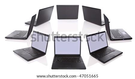 Computers - stock photo