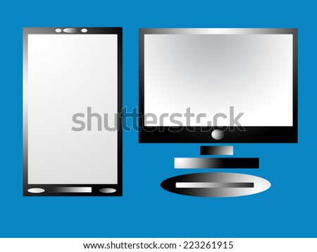 Computers and Tablets - stock photo
