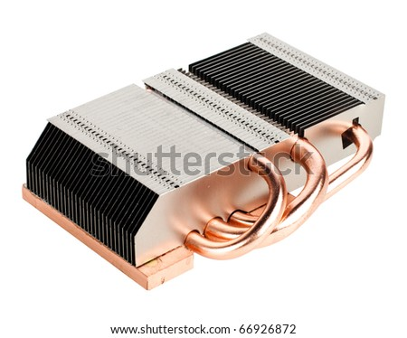 Computers VGA cooler - stock photo