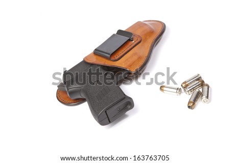 Concealed carry - stock photo