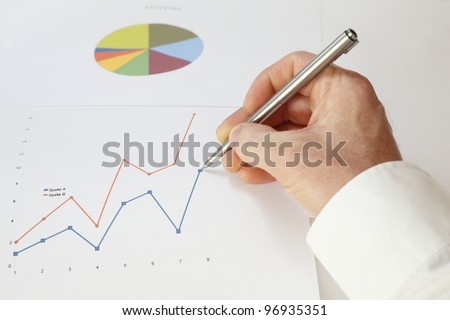 concept business - stock photo