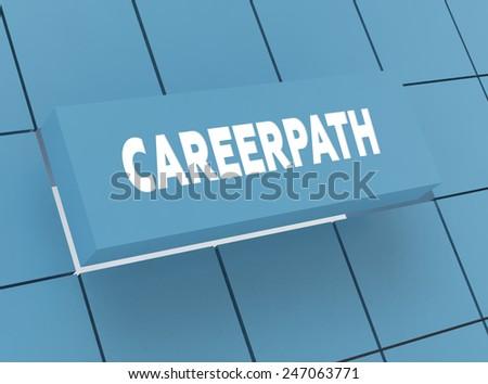 Concept CAREERPATH - stock photo