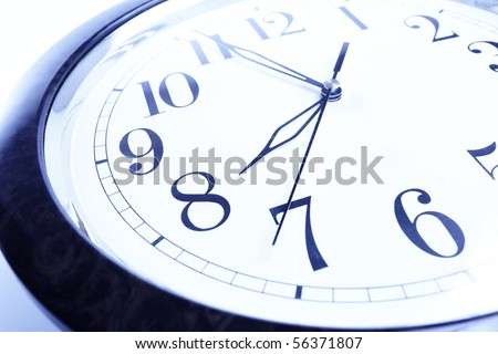 concept clock - stock photo