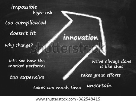 concept idea innovation - stock photo