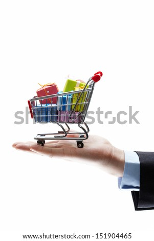 concept of buy shopping cart