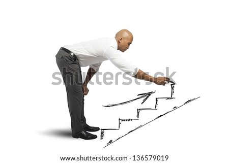 Concept of career and business opportunity - stock photo