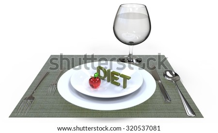 Concept of diet. Low-calorie fruit diet. Diet for weight loss.  Fruits on the table. Vegetarian diet for weight loss. Wellness.  - stock photo