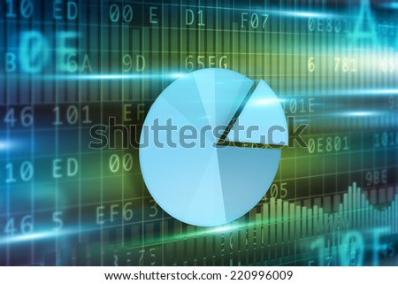 Concept of e-mail sign green background - stock photo