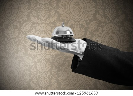 Concept of first class service in your business - stock photo