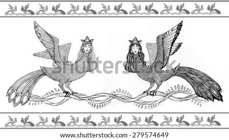 Russian Bird Woman Woman-bird