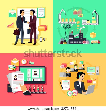 Concept of recruiting support and partnership. Partnership business, career and productivity collaboration, assistance working, strategy process development, professional management. Raster version - stock photo