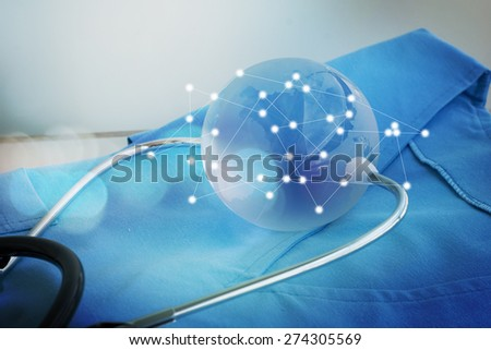 Concept of the Global healthcare