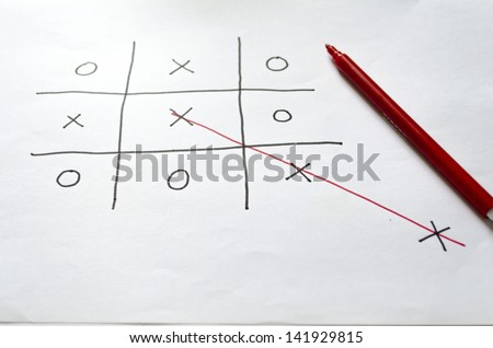 Concept of thinking outside the box to reach the goal - stock photo