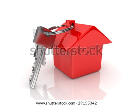 Concept of your dream house - stock photo