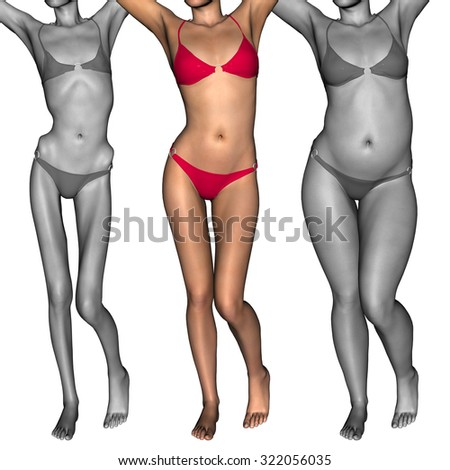 Stock Images, Royalty-Free Images & Vectors   Shutterstock  Obese Vs Anorexic