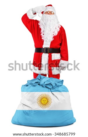concept photo - gifts for Argentina - stock photo