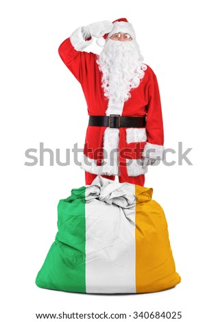 concept photo - gifts for Ireland - stock photo