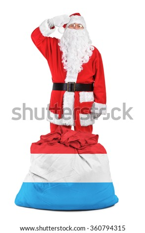 concept photo - gifts for Luxembourg - stock photo