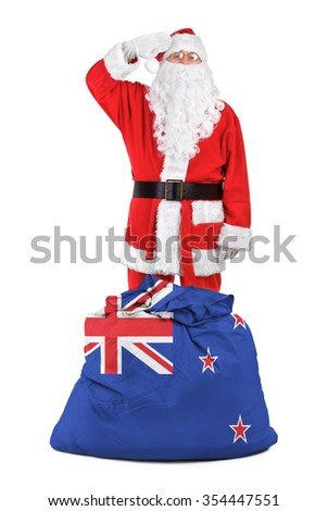 concept photo - gifts for New Zeland - stock photo