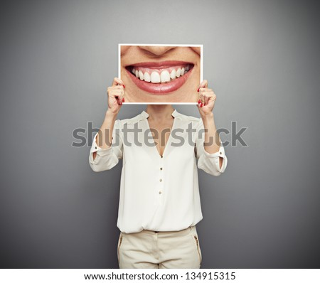 concept photo of good mood - stock photo
