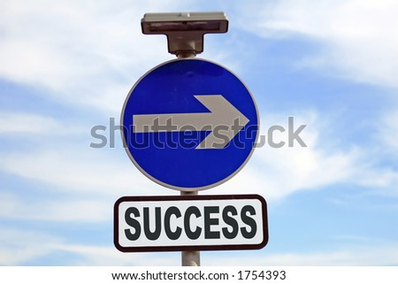 Concept sign relating to business, life, relationships and finance - stock photo