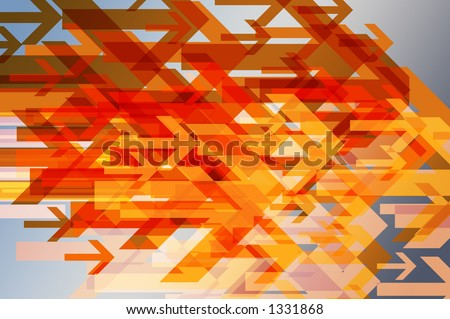 Conceptual background for moving forward / progress / advanceing, etc. - stock photo