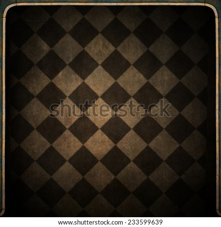 Conceptual background texture or illustration in dark room.   - stock photo